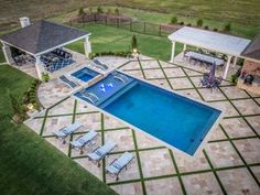 If you are working with the best backyard pool landscaping ideas there are lot of choices. You need to look into your budget for backyard landscaping ideas Small Swimming Pools, Small Pools, Swimming Pools Backyard, Swimming Pool Designs, Swimming Pool Decorations, Big Pools, Backyard Pool Landscaping, Backyard Pool Designs, Small Backyard Pools