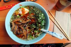 Portland, OR Restaurant Review: Boxer Ramen