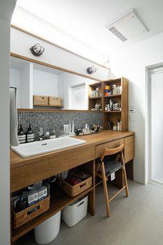 Toilet And Bathroom Design, Washroom Design, Bathroom Interior Design, Small Bathroom, Home Building Design, Home Room Design, House Design, Muji Home, Rustic Bathroom Decor