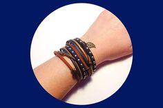 bracelet manchette brésilien multirang