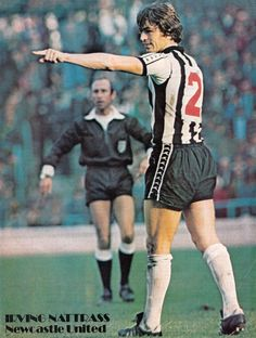 Circa 1976/77. Newcastle United defender Irving Nattrass.