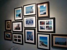 Picture Gallery Wall - The Cottage on the Croix