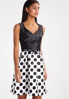 Vêtements Dorothy Perkins SWEETHEART - Robe d'été - mono noir: 60,00 € chez Zalando (au 25/05/17). Livraison et retours gratuits et service client gratuit au 0800 915 207.