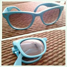 Foldable sunglasses got them yesterday love them
