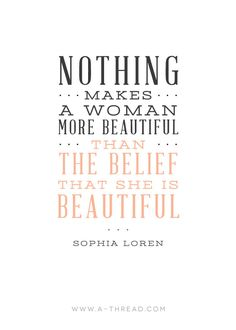This week's Motivation Monday quote is up! Download the printable on our blog www.a-threadblog.com #quotestoliveby #truebeauty #motivationmondays
