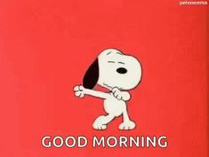 The perfect GoodMorning Snoopy Dancing Animated GIF for your conversation. Discover and Share the best GIFs on Tenor. Snoopy Love, Charlie Brown And Snoopy, Snoopy And Woodstock, Gifs Snoopy, Snoopy Videos, Snoopy Quotes, Good Morning Snoopy, Good Morning Gif, Morning Images