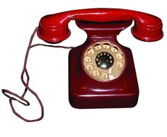 1920's Bakelite Phone