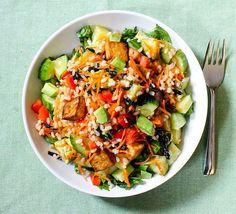 Deconstructed Tofu Sushi Salad