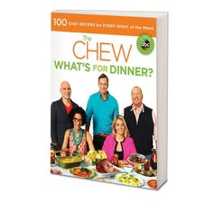 "Craving a little more Chew in your life? This fall, The Chew's headed to your kitchen with a brand new book, ""What's for Dinner?"" Click to pre-order now: http://www.barnesandnoble.com/w/the-chew-the-chew/1115448273?ean=9781401312817"