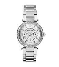 Product: Michael Kors® Womens Silvertone Watch