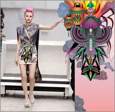 50 Origami-Inspired Fashion Styles - From Futuristic Geometric Dresses to Complex Origami Couture (TOPLIST)
