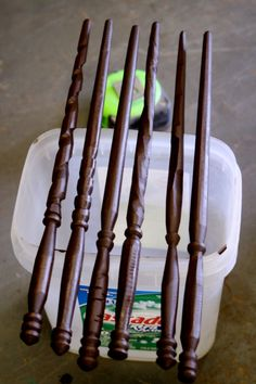 cool wooden custom wands - oh my god I would love one of these!!