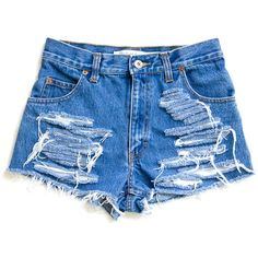 Studded Shorts, Purple Vintage Distressed High Waisted Denim W27 (165 BRL) ❤ liked on Polyvore featuring shorts, bottoms, denim shorts, jeans, distressed denim shorts, vintage high waisted shorts, high waisted denim shorts, ripped jean shorts and distressed jean shorts