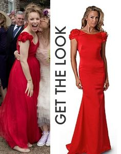 About Time movie: Mary's (Rachel McAdams) red wedding dress was made from a 1950s vintage gown #abouttimemovie #abouttime #getthelook