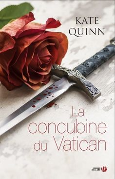 Kate Quinn's latest French release 'La Concubine du Vatican' features a beautiful still-life shot by Mohamad Itani!