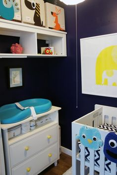 Before & after: closet turned nursery nursery nook