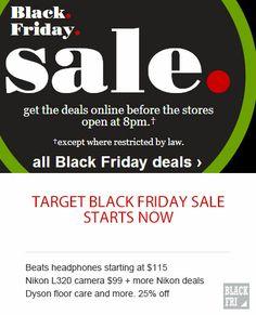 Target Black Friday Deals - Beats headphones starting at $115
