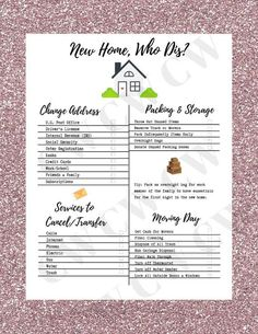 Moving Check List New Home Moving Packing Calendar Moving House Tips, Moving Day, Moving Tips, Moving Hacks, Buying First Home, First Home Buyer, Home Buying, First Home Checklist, Moving Out Checklist