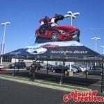 Inflatable Car - Mercedes Benz - SLS - San Diego