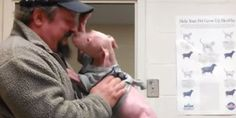 Abandoned Pup Recovering From Mange Couldn't Be More Excited To Reunite With His Rescuer
