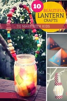 10 Beautiful Lantern Crafts That Kids Can Make - In The Playroom