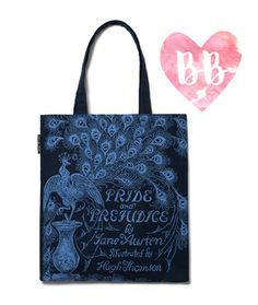 OBSESSED with this Jane Austen Pride and Prejudice Tote Bag!  #books #gifts #classics #JaneAusten