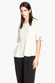 A Stylish & Affordable 9-To-5 Wardrobe? It's Possible #refinery29  http://www.refinery29.com/work-clothes-fall-sales#slide1  H&M Crepe Blouse, $20 (originally $39.95), available at H&M.