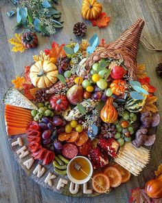 Charcuterie Recipes, Charcuterie Platter, Charcuterie And Cheese Board, Thanksgiving Parties, Thanksgiving Recipes, Fall Recipes, Holiday Recipes, Food Platters, Party Platters