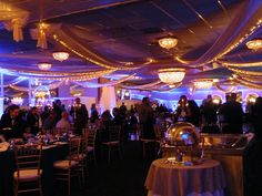 Our beautiful Marquis up lit with blue specially for this extra special gala at Grand Marquis for Officer Down.  Officer Down™, Inc. is a state-wide not-for-profit organization in NJ committed to helping any permanently disabled or deceased Law Enforcement Officer and their families in need. #OfficerDownNJ, #MarquisRoom, #specialevents, #servicemen, #servicewomen, #GrandMarquis.
