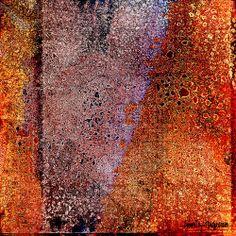 Tangerine Abstract by Citra Artist: Christy RePinec, LemonTrystDesigns©2014. Citra Solv art
