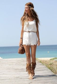 Those shoes!!! 37 Popular Street Style Combinations For Trendy Summer