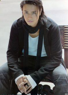 Saito Takumi - Nirai Kanai 001 by ~biaflyette on deviantART Asian Actors, Korean Actors, Beautiful Boys, Gorgeous Men, Japanese Men, Japanese Artists, Suit And Tie, Hot Boys, Actors & Actresses