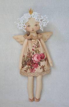 Doll Crafts, Diy Doll, Diy Rag Dolls, Fabric Doll Pattern, Pattern Sewing, Sewing Dolls, Fairy Dolls, Diy Angel Dolls, Doll Clothes Patterns