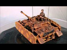 1/144 Metal Troops Creation WWII German Tank STUG IV 163E M