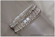 Tila beads on Pinterest   Bracelet