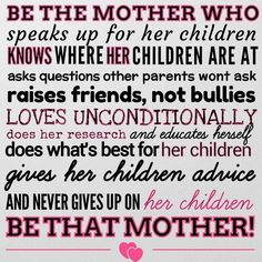 :::I am THAT Mother *&* Stepmother!::: Love my babies....