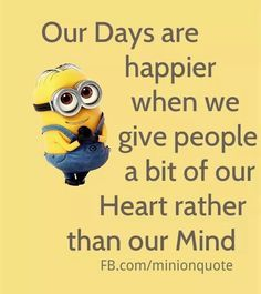 MINION LOVE on Pinterest | Minions, Minions Quotes and Despicable Me