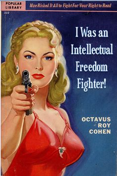 I Was an Intellectual Freedom Fighter!  Professional Library Literature : simplebooklet.com