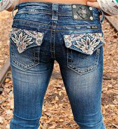 Miss Me Floral Skinny Jeans! $114.99! #southernfriedchics