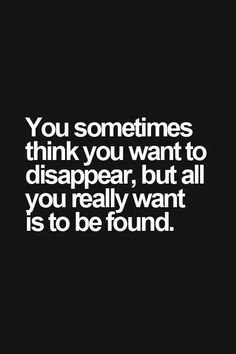 Disappear...