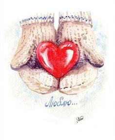 Скрапбукинг, рукоделие, Картинки ко дню Святого Валентина