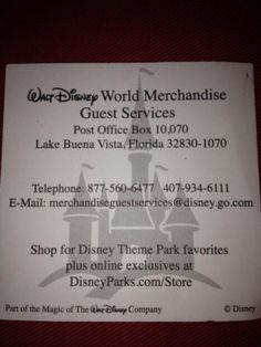 Wish you'd bought something while you were at Disney World!  Here's how to have Disney Theme Park Merchandise sent to your house | http://www.chipandco.com/disney-theme-park-merchandise-house-177659/