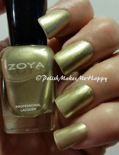 """I think with every polish I put on, I find a """"new favorite"""". I got my mystery Zoya Nail Polish and Treatments this week, and wow, there was one that is so """"me""""! I truly love the color, the formula, the semi-satin finish... oh my... This is """"Severine"""". I wish it had come in a full size... I'm going to need more! #zoya #notd #prettynails"""
