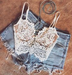 Cropped + short cintura alta