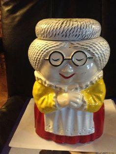 Old Lady/Grandmother Cookie Jar    eBay
