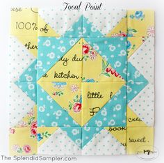 Charise Creates: The Splendid Sampler ~ Focal Point & Simple Simon