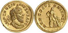Imperial Rome/Gallic Empire AV aureus ND 262AD Treves Mint Usurper Postumus 260-68AD