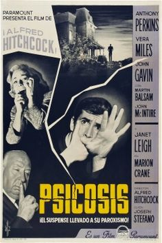 Pricing Guide of Horror Film Posters. Sold through Direct Sale: psicosis alfred hitchcock poster original estreno. Norman Bates, Classic Movie Posters, Classic Movies, Alfred Hitchcock, Hitchcock Film, Horror Movie Posters, Horror Movies, Old Movies, Vintage Movies