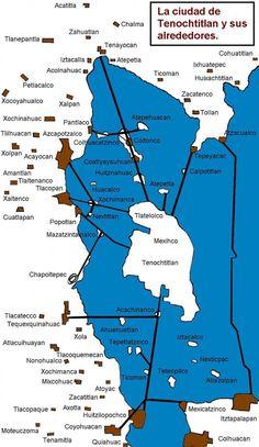 Historia mexica - Tenochtitlan y sus alrededores, Wikipedia, la enciclopedia libre