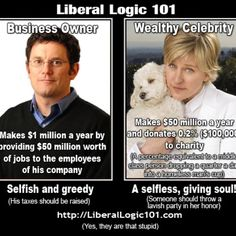 Liberal Logic!! What?! This puts things in perspective!!!